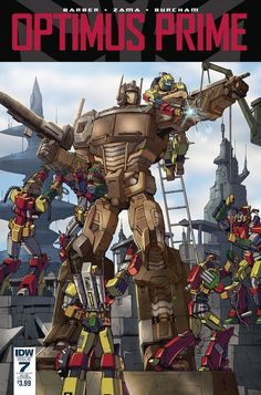 IDW Transformers Comic Solicitations For May 2016
