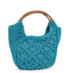 STRAW STUDIOS Crocheted Hobo Bags