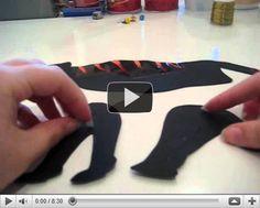 Marionetas de sombras chinescas articuladas