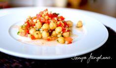 Tanya's Food Experience: Fresh Summer Chickpea Salad