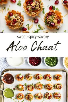 Easy Aloo Chaat recipe using phyllo cups - Ministry of Curry Fall Dessert Recipes, Fall Desserts, Health Desserts, Dessert Ideas, Summer Recipes, Chaat Recipe, Biryani Recipe, Indian Appetizers, Indian Snacks