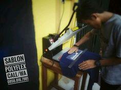 Portofolio Sablon Polyflex - SABLON KAOS SATUAN JASA SABLON POLYFLEX
