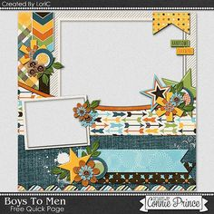 FREE Boys to Men Quick Page 2 Freebie By Lori C. from Connie Prince