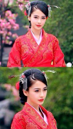 Ancient Chinese fashion  古装美人 云中歌 angelababy 杨颖