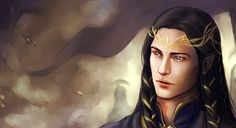 "melianinarda: """"None of the Eldar at that time dwelt in his father's lands, and once only he seen them, when King Fingon and many of his lords ridden through Dor-Lomin and passed over the bridge of..."