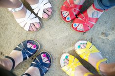 Salt-Water Sandals! #summer #style