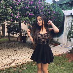 """7,012 curtidas, 62 comentários - Amanda Hummer (@hummer_aj) no Instagram: """"O amor nos deixa infinito!   vestido lindo @credencialx"""""""