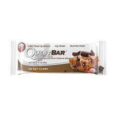 Quest Nutrition Protein Bar, Chocolate Chip Cookie Dough,...