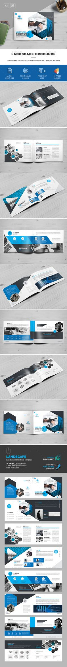 Tri Fold Brochure Template  Square TriFold Brochure Design  Psd