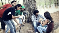 On the Shooting set#Last benchers-Movie#‎direction#Produced by- #moreshwar meshram@nagpur location..upcoming movie