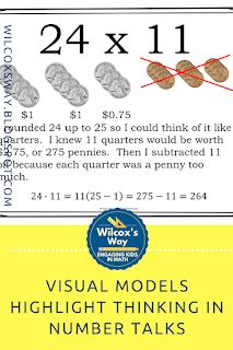 Using visual models can help students see what another student was thinking during a number talk. Standards For Mathematical Practice, Number Talks, 7th Grade Math, Cooperative Learning, E Commerce Business, Math Practices, Common Core Math, Student Engagement, Math Skills