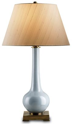 Blue Dante Table Lamp - Currey & Company