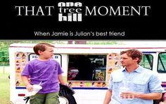 James Lucas Scott. Jamie. Julian Baker. Jackson Beundage. Austin Nichols. One Tree Hill. OTH. That One Tree Hill Moment.