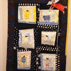 Advent Calendar, Quilts, Holiday Decor, Frame, Home Decor, Room Decor, Quilt Sets, Frames, A Frame