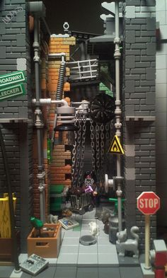 Homeless — BrickNerd - Your place for all things LEGO and the LEGO fan community Lego Modular, Lego Design, Lego Movie Sets, Lego Dragon, Lego Pictures, Amazing Lego Creations, Lego Craft, Lego Architecture, Architecture Models