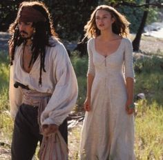 Elizabeth Swann's rum island shift. It's technically an underdress but still...