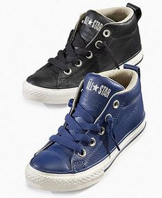 leather converse for kids