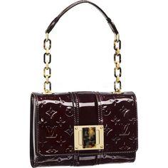 9fee160f8a2e3 Louis Vuitton s Monogram Vernis Vermont Avenue evening bag via