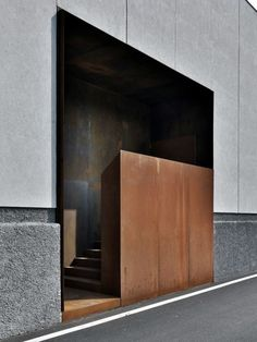 entrance - lamiflex composites - buratti+battison architects