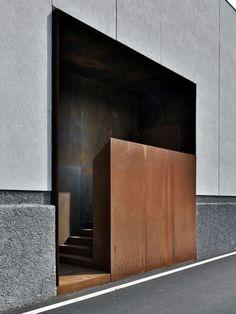 entrance - lamiflex composites - buratti+battison architects