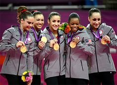 """Jordyn Wieber Olympic Lesson: As exciting as it was to see Team USA win the gold medal and Gabby Douglas' fantastic gold medal performance in the all-around, the greatest lessons to take away from Jordyn Wieber and the """"Fab 5"""" may come from the way they courageously and graciously faced the losses. Jordyn and her teammates are true Olympic heroes."""