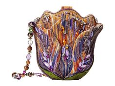 Fantastically Embroidered Handbags by Mary Frances Shaffer Mary Frances Purses, Mary Frances Handbags, Alien Art, Shoe Game, Evening Bags, Purses And Handbags, Fancy, Beads, Crystals