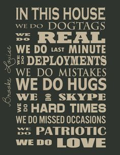 Military Lifestyle Quote by RainyDayAffairs on Etsy, $5.00