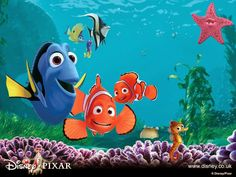 Point of View/Perspective practice using clips from Finding Nemo