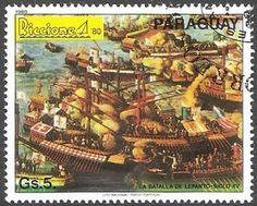 La batalla de lepanto - siglo XV