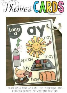Phonics cards alphabet, CVC, long vowels, beginnning blends and more, Great for interventions, flash cards, reading groups, and small group instruction