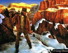 """Good Horse Gone"" by Greg Olsen ~ cowboy"