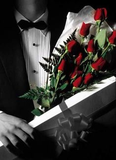 each lady will receive 2 dozen complimentary roses as they leave tonight. #enchantedvalentine