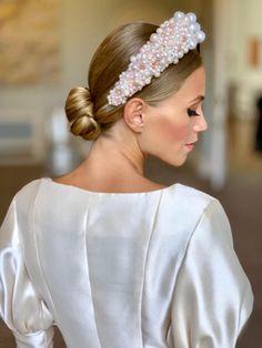 Rose Quartz, Aphrodite's Halo – Victoria Percival Halo Headband, Bridal Crown, Headpiece Wedding, Bridal Headpieces, Headband Wedding Hair, Bride Headband, Wedding Veils, Hair Jewels, Bridal Hair Vine