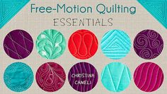 As a free motion quilter, you can stitch whatever you'd like. That freedom is wonderful, but it can also be paralyzing. Where do you start? ...