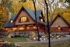 """Linwood Cedar home handcrafted, """"The Mystic"""""""