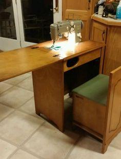 Pfaff 130 in a cabinet | Sewing machine pr0n | Pinterest | Vintage ...