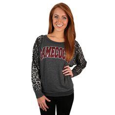 Leopard Sweater University of South Carolina