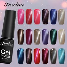 Saroline Soak Off UV Gel Nail Polish Art Cat Eyes Nail Gel Polish Set Magnetic Nail Polish Color Gel Varnish Lacquer Nail Art  Price: 0.98 USD