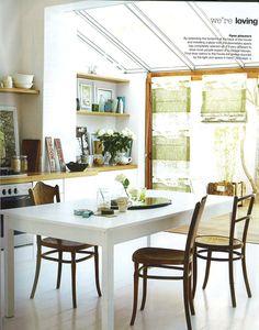 slanted glass roof panels, wooden frame doors, nice finish