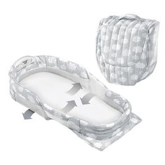 Baby Delight® Snuggle Nest Surround Infant Sleeper - Silver Clouds XL : Target