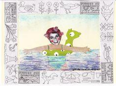 Birthday of Grace (collage 2015) by Gabriella Vantini
