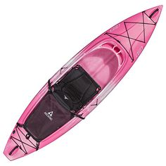 Ascend® D10 Sit-In Kayak - Pink | Bass Pro Shops // Designed to give outdoors lovers great performance on the water at a great price, the D10 Sit-In Kayak comes packed with great features normally only found on higher priced kayaks. #mothersdaygifts #kayaking #AscendOutdoors