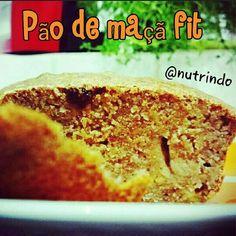 Pão de maçã fit ZERO lactose ZERO farinha e açúcar refinados  Ingredientes: ✔ 1 colher ( chá) de fermento fresco; ✔ 1 xícara ( chá) de água morna; ✔ 2 xícaras (chá) de farinha de trigo integral; ✔ 1 colher (sopa) de açúcar mascavo; ✔ 1 colher (sopa) de óleo de coco; ✔ 1 colher ( sopa) de uvas passas; ✔ 1 maçã ralada; ✔ 1 colher (café) de canela em pó.  Modo de preparo :  Dissolva o fermento na água morna, misture todos os ingredientes. Deixe a massa crescer por uma hora. Coloque em  forma…