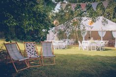 Hold Your Wedding Reception In Your Back Garden - Image by Story + Colour | See the wedding in full here