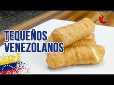 Tequeños Venezolanos - Con Queso y Tocineta | Pimienta TV - YouTube