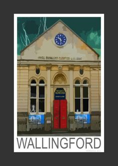 Wallingford Corn Exchange Theater, Oxfordshire (Art Print)