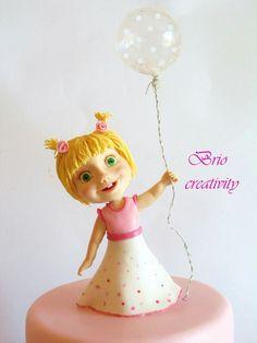 Little Masha by Carmela Iadicicco (torte con brio) Baby Birthday Cakes, 3rd Birthday, Masha Cake, Masha And The Bear, Bear Cakes, Cupcake Cakes, Cupcakes, Girl Cakes, Peppa Pig