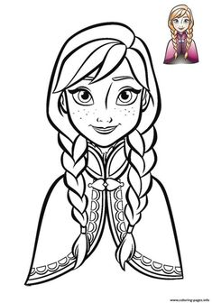 anna frozen face 2018 coloring pages printable and coloring book to print for free. Find more coloring pages online for kids and adults of anna frozen face 2018 coloring pages to print. Frozen Coloring Sheets, Frozen Coloring Pages, Coloring Pages For Grown Ups, Disney Princess Coloring Pages, Disney Princess Colors, Disney Colors, Cute Coloring Pages, Cartoon Coloring Pages, Coloring Pages To Print