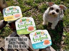 Wellness® TruFood® Tasty Pairings Dog Food Review #Sponsored Dog Food Reviews, Salmon, Dog Cat, Tasty, Nutrition, Wellness, Pets, Healthy, Foods