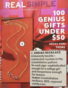 Constellation Necklaces - My Jewel Candy